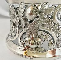 Rare Silver Irish Dish 'Potato' Ring. Dublin 1902 (6 of 6)