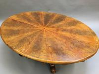 Scottish Victorian Oval Coffee Table (7 of 10)