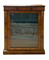 Late 19th Century Walnut Pier Cabinet (2 of 7)
