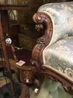 Victorian Mahogany Sofa (8 of 10)