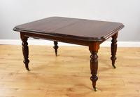 Late Victorian Mahogany Pull Out Three Leaf Dining Table (5 of 14)