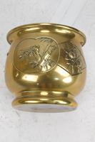Antique Arts & Crafts Brass Planter / Jardinière (10 of 13)