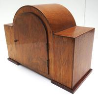 Good Arched Top Art Deco Mantel Clock – Musical Westminster Chiming 8-day Mantle Clock (7 of 11)