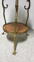 Superb French Brass Mounted Lamp Table (6 of 10)