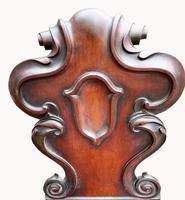 Victorian Mahogany Hall Chair (5 of 6)