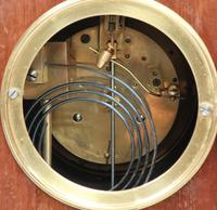 French Belle Epoque Mahogany Mantel Clock, 1900s (8 of 8)