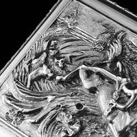 Rare Antique Georgian Solid Silver Mazeppa Snuff Box - Edward Smith 1836 (22 of 23)