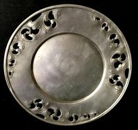 Ethan Fin North European Art Nouveau Pewter Charger (3 of 4)