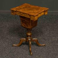 Victorian Walnut Sewing Table (10 of 12)