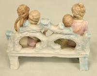 Bisque Figure of Children and Mother Seated (4 of 6)