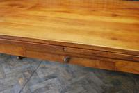 Large Extending Cherrywood Farmhouse Table (8 of 12)