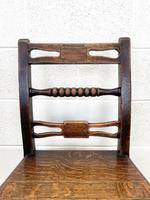 Set of Six Georgian Oak Country Chairs (6 of 10)