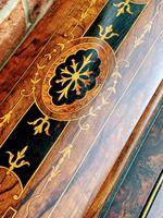 Antique Victorian Inlaid Burr Walnut Davenport Writing Desk (12 of 12)