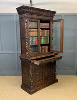 Imposing Carved Oak Bookcase (21 of 23)