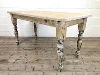 Vintage Pine Farmhouse Kitchen Table (2 of 9)
