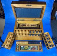 Victorian Pine Partially Fitted Games Box (14 of 32)