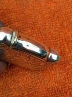Antique Sterling Silver Hallmarked Vesta Gold Gilt 1921, John Rose (2 of 12)