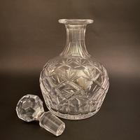 Thomas Webb Corbett 'Prince Charles' Crystal Spirit Decanter (2 of 5)