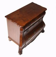 Dutch Bombe Commode Antique Chest of Drawers 1920 (9 of 13)