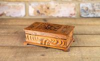 Carved Trinket Box 1930's (5 of 6)