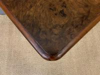 Victorian Pair of Burr Walnut Bedside Chests (13 of 14)
