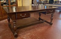 A Writing Desk With Turned Legs - Netherlands-19th Century (8 of 12)