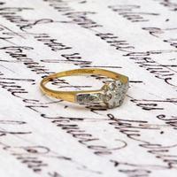 The Antique Nine Diamond Daisy Ring (5 of 5)