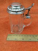 Antique Hallmarked German 800 Silver & Glass Tankard C1890 Wilhelm Binder (11 of 12)