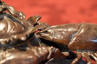 Fine Bronze Lobster Inkwell (2 of 10)