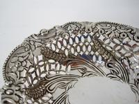 Charming Oval Victorian Silver Dish (4 of 5)