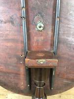 Antique Mahogany Pillar Table (4 of 8)