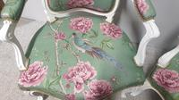 Wonderful Pair of French Painted Chairs (7 of 13)
