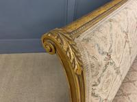 19th Century French Giltwood Settee (13 of 15)