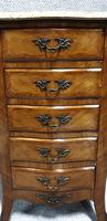 French Five Drawer Chest of Drawers (7 of 8)