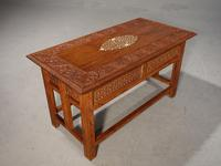 Beautifully Carved Late 19th Century Eastern Low Table (3 of 7)