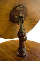 Victorian Gentlemen's Shaving Stand with Circular Mirror (6 of 6)