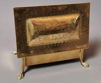 Antique Brass Tobacco Box, Heraldic (12 of 13)