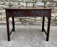 Antique Georgian Oak Side Table (13 of 14)