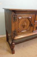 Antique Oak Sideboard Dresser Base (6 of 13)