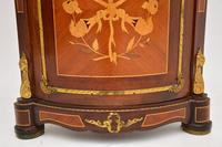 French Inlaid  Marquetry Corner Cabinet (7 of 8)