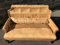 Antique English Upholstered Sofa for Recovering (2 of 7)