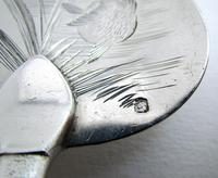 Superb Antique French Solid Sterling Silver Hallmarked Fish Server, Serving Knife, 19th Century (7 of 13)