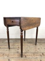 Small Victorian Welsh Oak Pembroke Table (6 of 18)