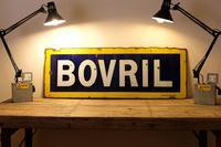 Large Antique Bovril Vitreous Enamel Sign (5 of 13)