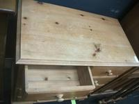 Two Over Three Drawer Pine Chest of Drawers (2 of 2)