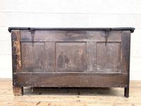 18th Century Antique Oak Panelled Coffer (12 of 12)