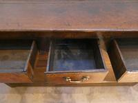 English 18th Century Oak Dresser with Spice Drawers (4 of 15)