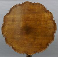 Very Large Georgian Piecrust Tripod Table (2 of 6)