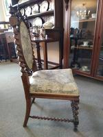 Victorian Carved Barley Twist Chair (4 of 7)