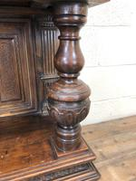 19th Century Oak Cupboard on Stand (7 of 10)